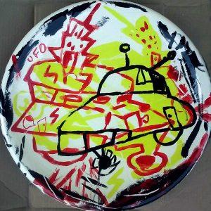 3 UFO Ceramic