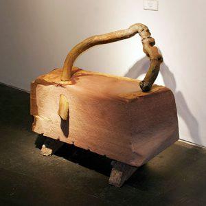 Stitch-in-Time-patinated-bronze-30x40x19_9766820744_o