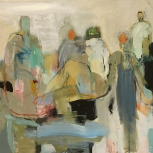 Summer Crowd 48x60