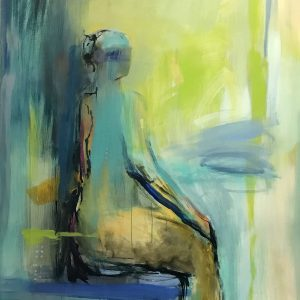 Seated-Figure-In-Blue-60x48-