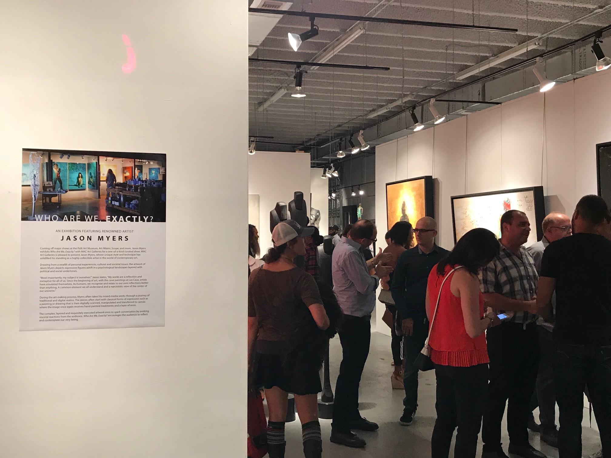 Jason Myers - Who Are We, Exactly? | MAC FINE ART