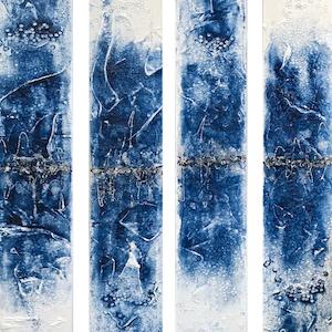 Blue Heart Art