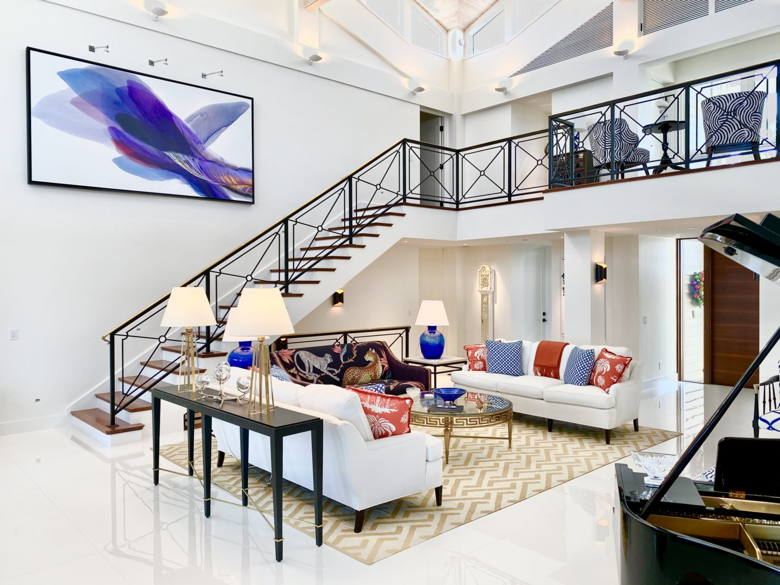 Staircase Wall Art Painting