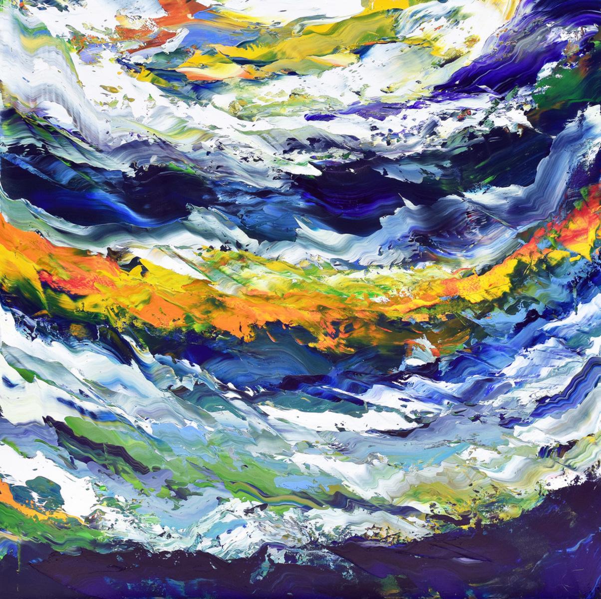 Open Ocean Acrylic Fine Art